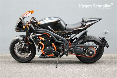 Motorrad Mieten England by Umgebautes Motorrad Triumph Speed Triple 1050 Von J 252 Rgen