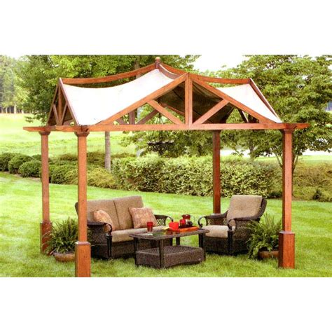 garden treasures pergola replacement canopy garden treasures pergola replacement canopy riplock 350