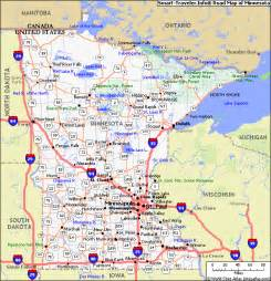 Minnesota Map Usa by Map Of Minnesota States And Cities Maps
