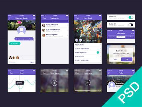 design apps free 35 gorgeous free app design templates