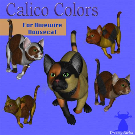 calico color calico colors for housecat daz studio sharecg