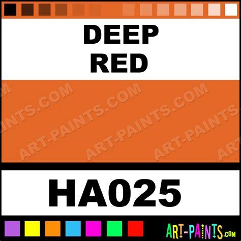 deep red color deep red irodori antique watercolor paints ha025 deep