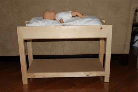 Doll Changing Table Made Pieces For Reese Baby Doll Changing Table Or Bunk Bed For 18 Quot Dolls