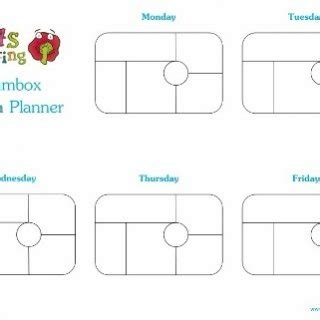 lunch box planner template printable lunch box planners archives eats amazing