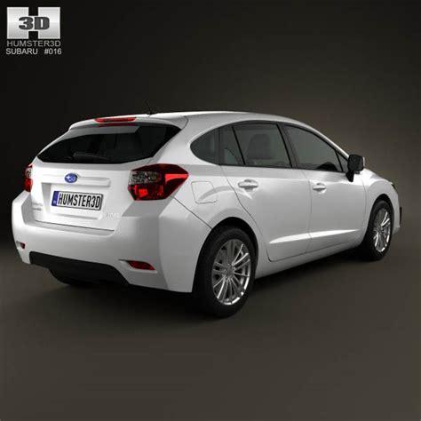 subaru impreza hatchback 2012 3d model hum3d