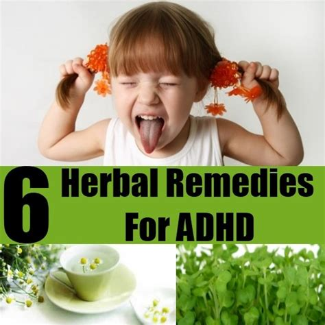 Herbal Adha top 6 herbal remedies for adhd diy home remedies kitchen remedies and herbs