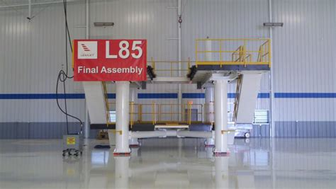 large scale integration project learjet 85 assembly large scale integration projects projects advanced integration