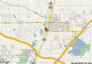 where is brighton colorado on map map of brighton inn brighton