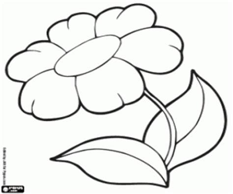 fiori da stare e ritagliare disegni di fiore da colorare e stare