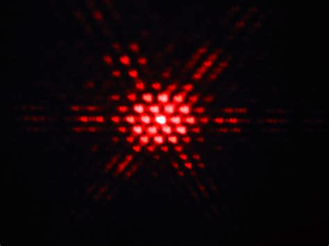 interference pattern for white light light as a wave