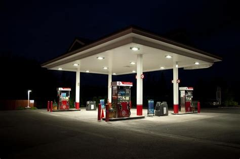 led gas station canopy lights optec led lighting retrofit for hid lighting synergy