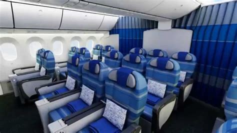 lot boeing 787 dreamliner interior