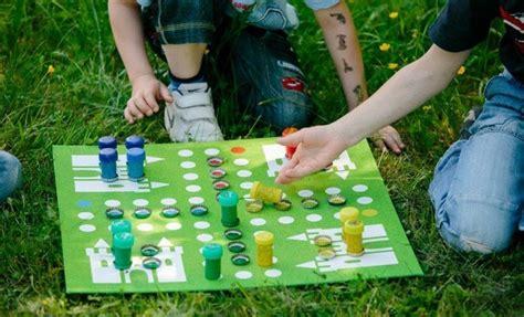 homemade games  kids diy ludo board game