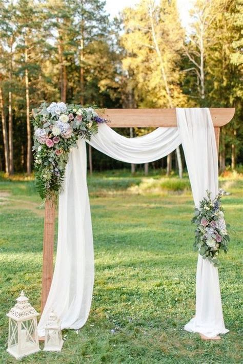 36 Fall Wedding Arch Ideas for Rustic Wedding   Wedding
