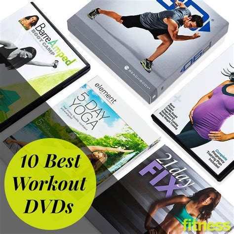 10 Best Workout DVDs   At Home Workouts   Fitness Magazine