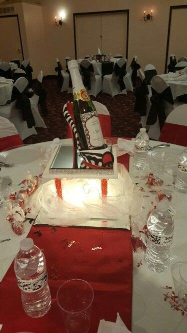 High heel party centerpiece   Smooth drink in 2019