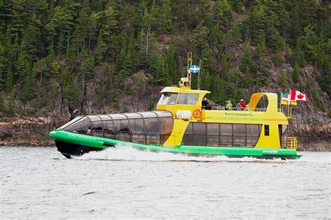 bateau mouche fjord bateau mouche cruise parc national du fjord du