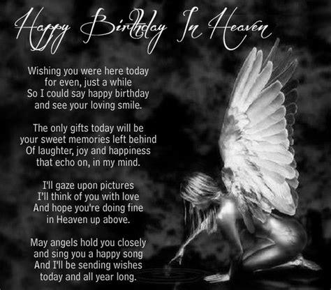 Happy Birthday In Wishes 72 Beautiful Happy Birthday In Heaven Wishes My Happy