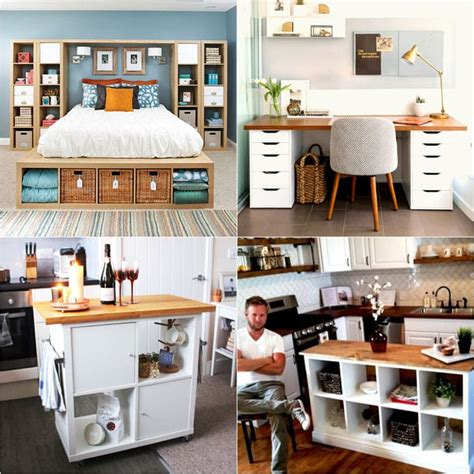 ikea hackers kitchen house furniture 20 smart and gorgeous ikea hacks great tutorials