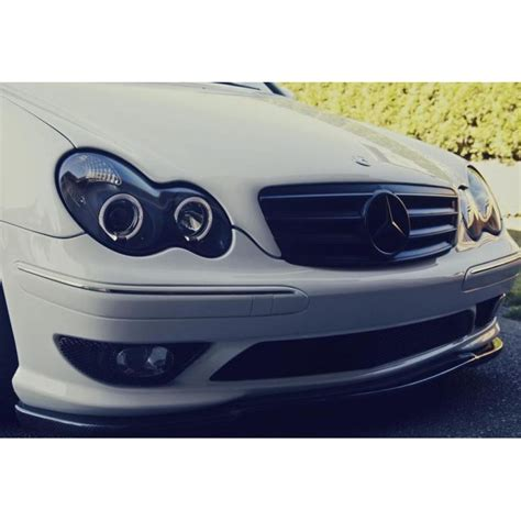 mercedes c class headlights 01 05 mercedes benz c class w203 angel eye halo projector