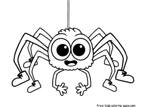 coloring pages insects and spiders printable insects spiders activities preschool coloring