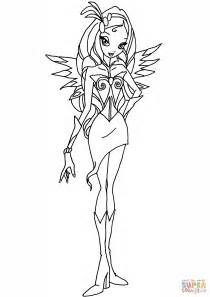winx princess coloring pages winx club diaspro coloring page free printable