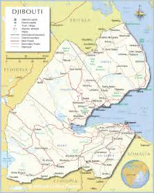 Djibouti Africa Map by Gktest Maps Amp Flags