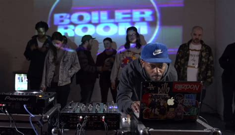 flume boiler room knxwledge s 55 minute boiler room mix
