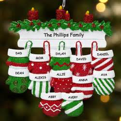 Shop personalized family ornaments for up to 12 people from personal