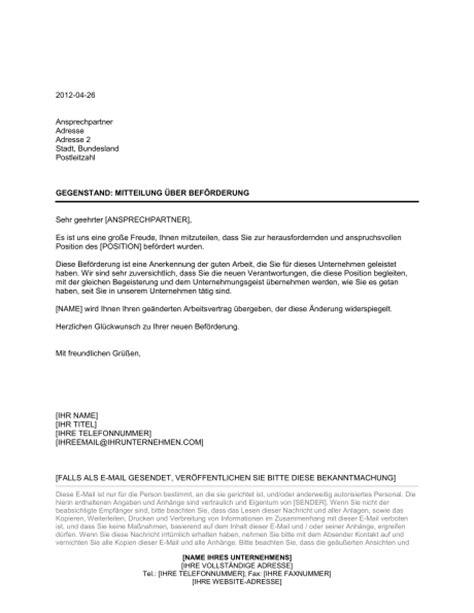 Geschäftsbriefe Vorlagen Muster Mitteilung 252 Ber Bef 246 Rderung Vorlagen Und Muster Biztree