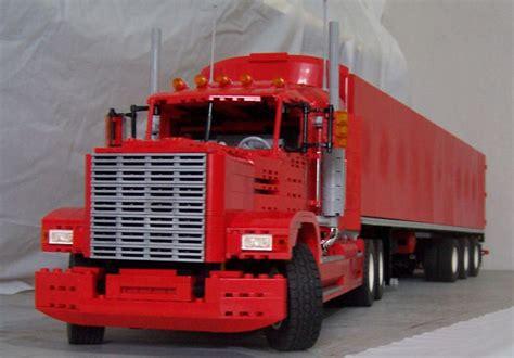 Set Semi Berlian truck driver worldwide lego trucks