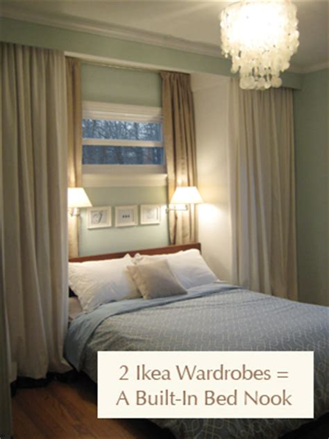 Add Storage Space With Bedroom Built Ins And Romantic Ambiance With Swing Arm Lamps  Turn One