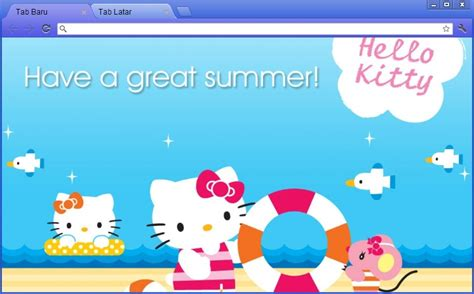 hello kitty themes google chrome hello kitty google chrome theme by rafikafakhirart on