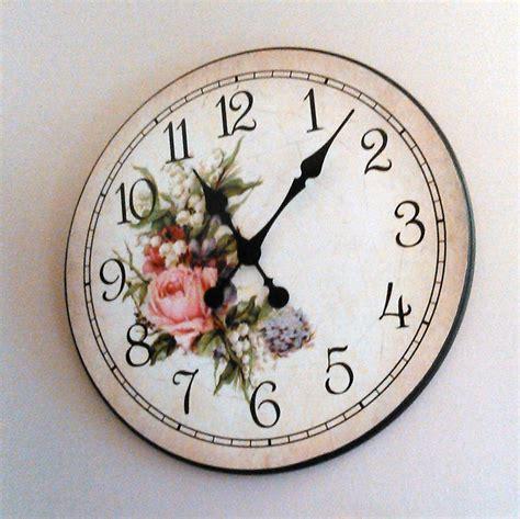 country style wall clocks country style wall clocks floral clock the big clock store