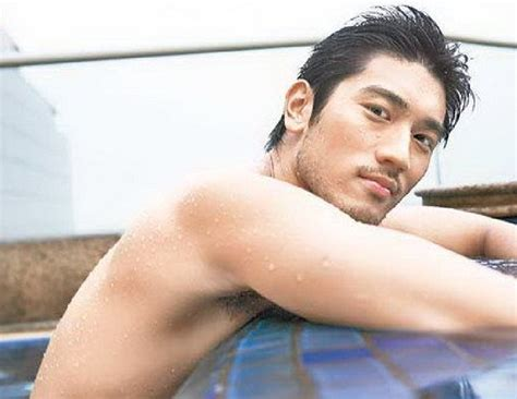 godfrey gao side profile my new plaid pants gratuitous godfrey gao ii
