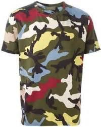Baju Sweater Pria Original Uniqlo Sweats Henley Navy valentino camouflage t shirt