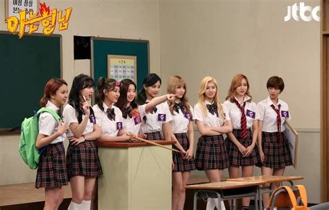 knowing brother twice to film for variety show a hyung i know allkpop com