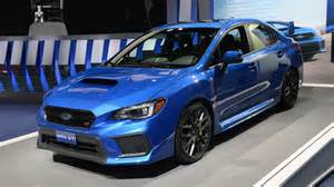 Subaru Impressa Wrx The Refreshed 2018 Subaru Wrx Starts At 27 855 Autoblog