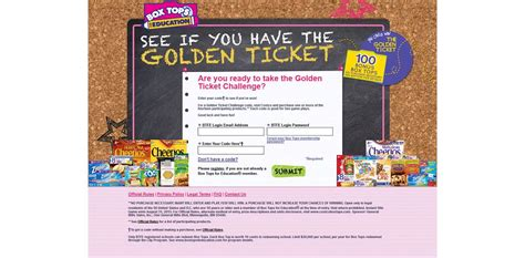 Pch Golden Ticket - box tops golden ticket challenge instant win game bloodorim mp3