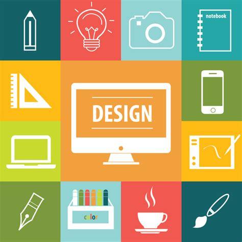 Web Design Icon Kit   design icons set free vector in adobe illustrator ai ai