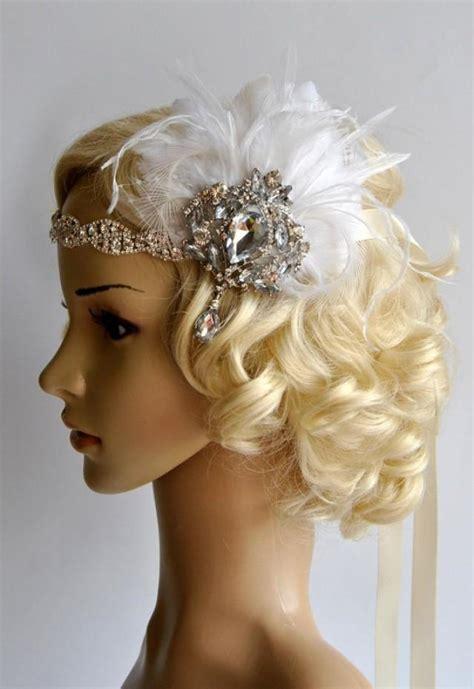 flapper headpiece diy glamour rhinestone flapper 1920s headpiece rhinestone