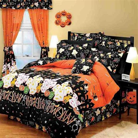 halloween bed sheets halloween bedding sets home furniture design