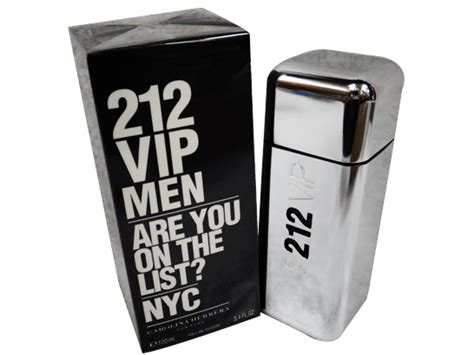 parfum 212 homme carolina herrera 212 vip edt perfume for 100ml promo sn