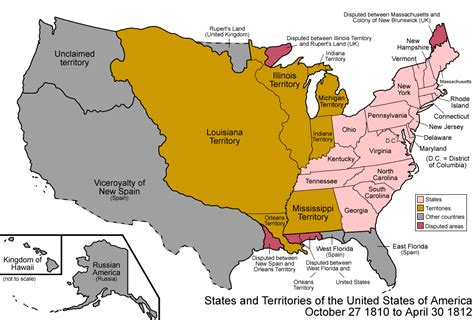 Of United States 023 States And Territories Of The United States Of America