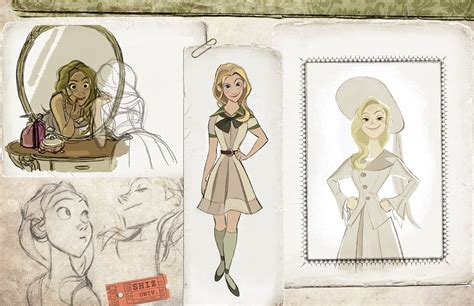 animation layout artist blog once upon a blog old animation development art for