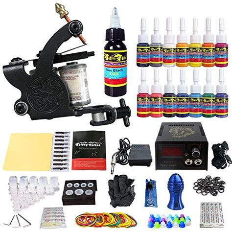 eyepower tattoo kit top 10 professional kits best machines guns 2018