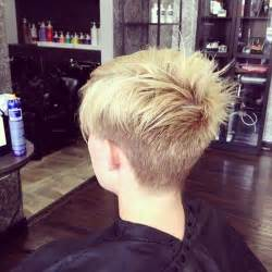 pic of back of spiky hair cuts back view of short spiky haircuts short hairstyle 2013
