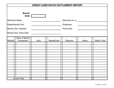 Blank Report Card Template by Blank Report Card Template