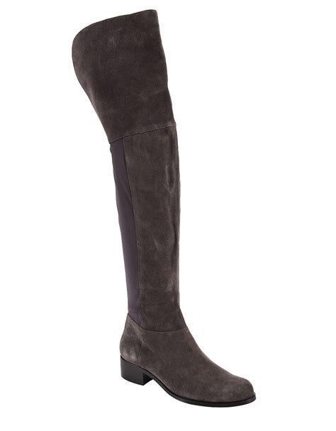 charles by charles david boots charles by charles david giza suede and lycra the