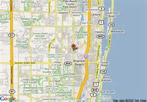 map of boynton florida map of courtyard by marriott boynton boynton